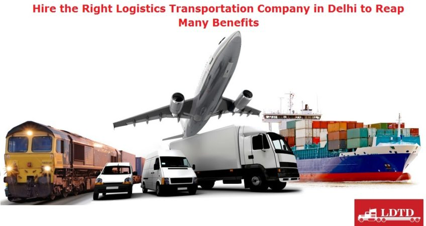 Transportation Company in Delhi